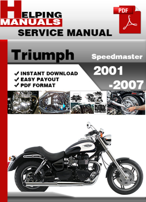 2004 triumph speedmaster owners manual