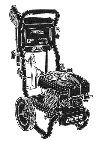 craftsman power washer owners manual