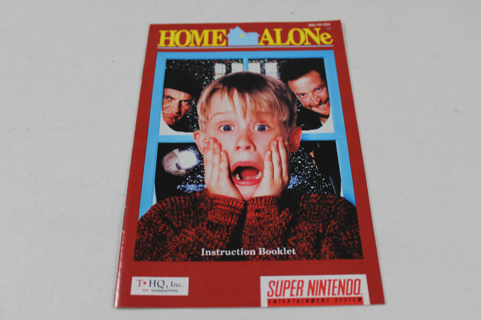 home alone 2 snes manual