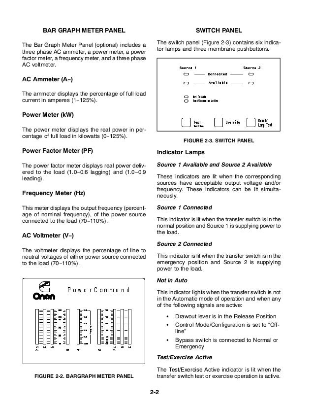 cummins otpc transfer switch service manual