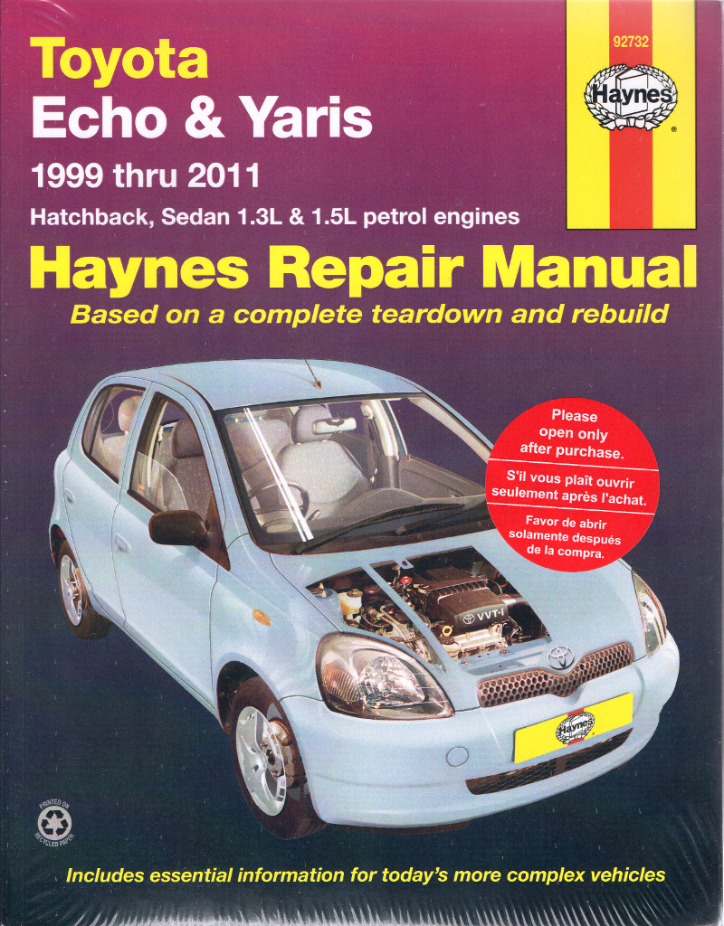 toyota yaris 2011 owners manual