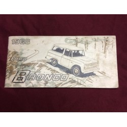 1975 ford bronco owners manual