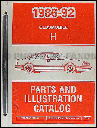1992 oldsmobile 98 owners manual
