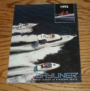 1993 bayliner trophy owners manual