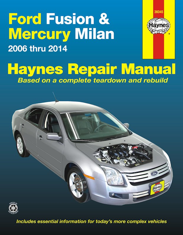 2014 ford fusion service manual