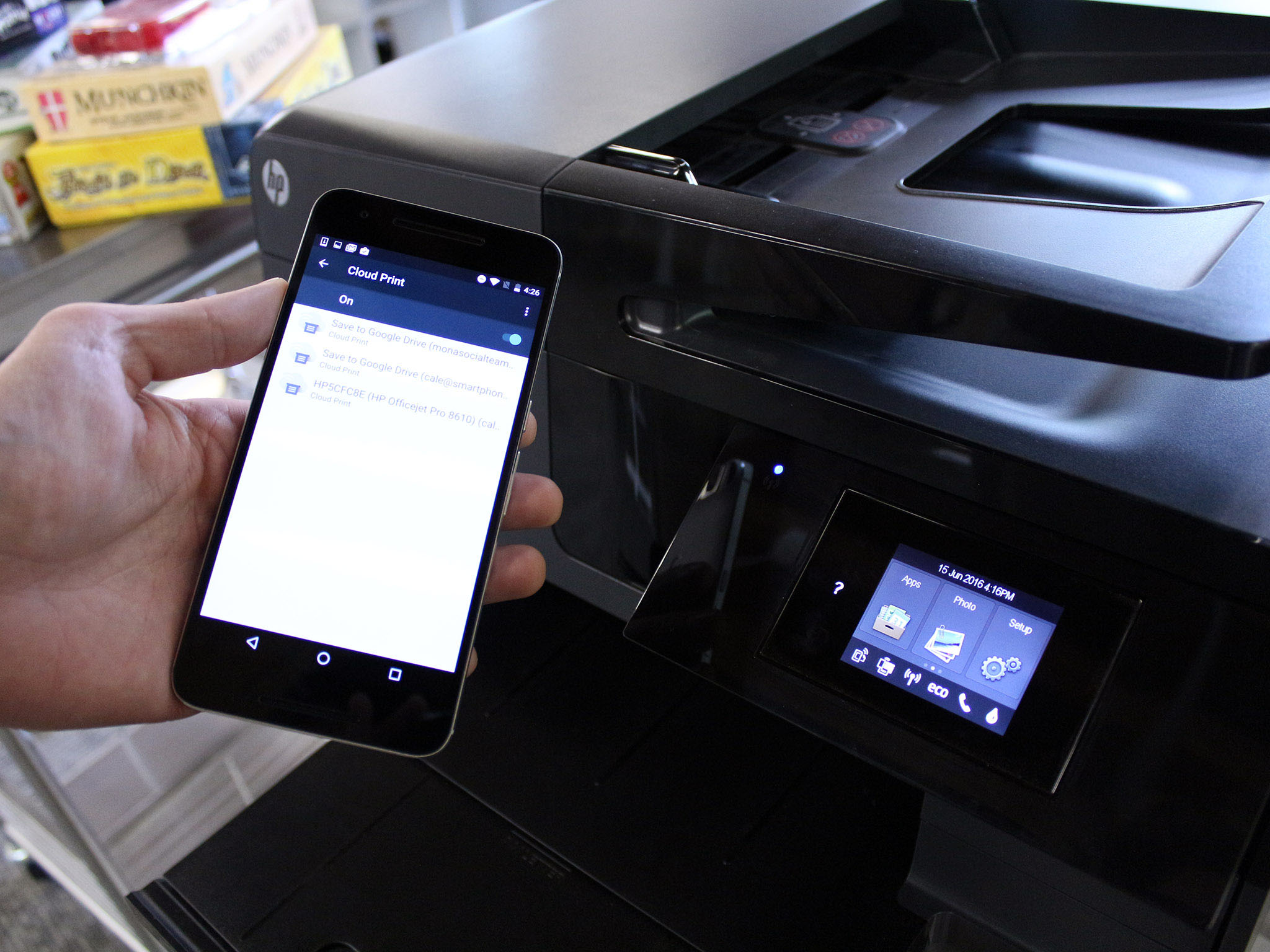 how to add manually a printer to pixel 2 phone