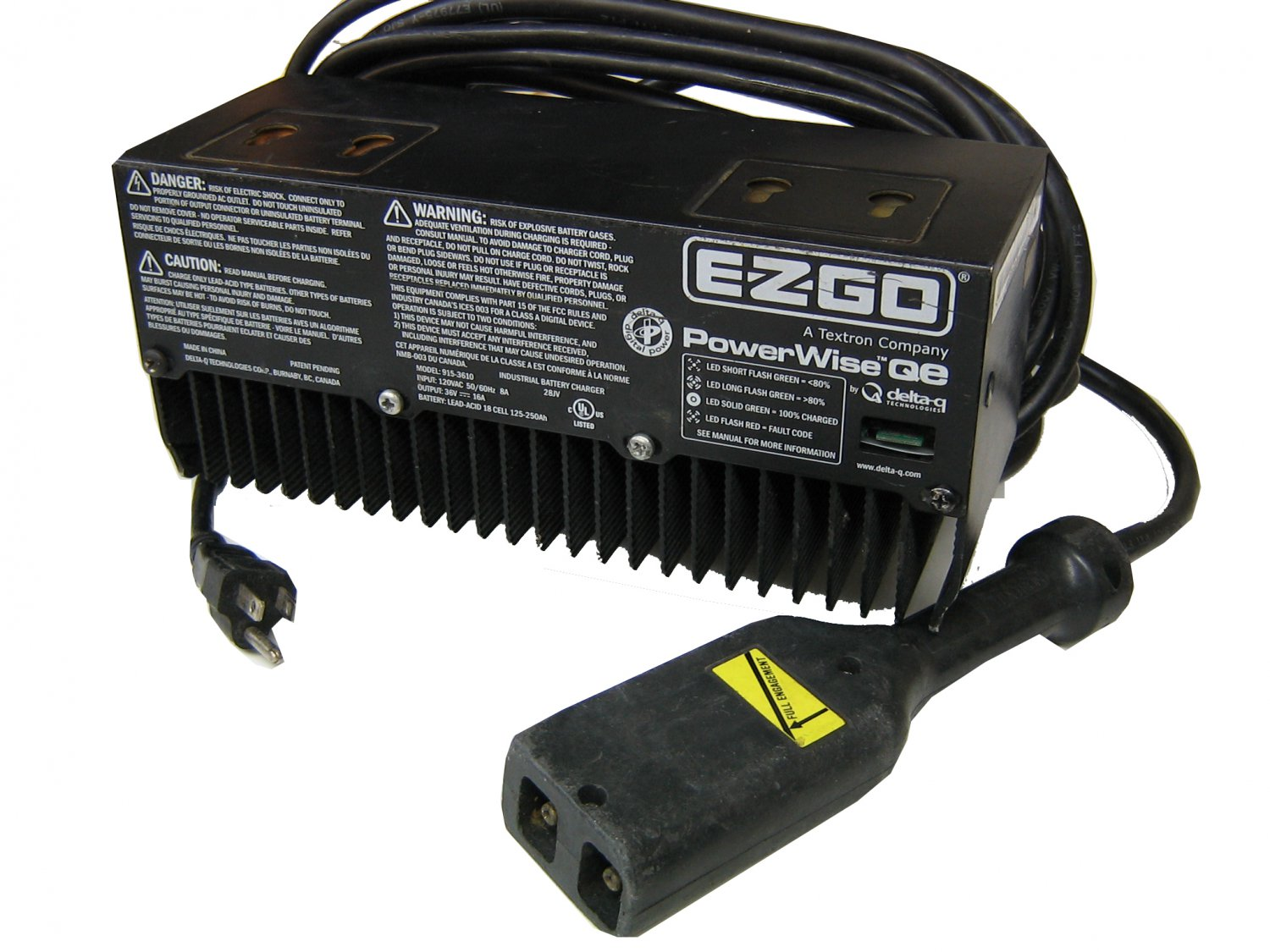 ez go powerwise 2 charger manual