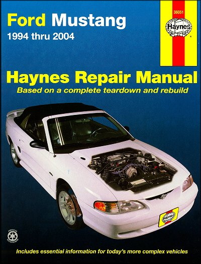 2004 ford mustang service manual pdf
