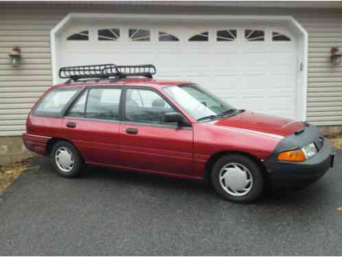 1995 ford escort wagon owners manual