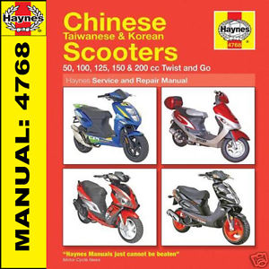 gator 50 scooter owners manual
