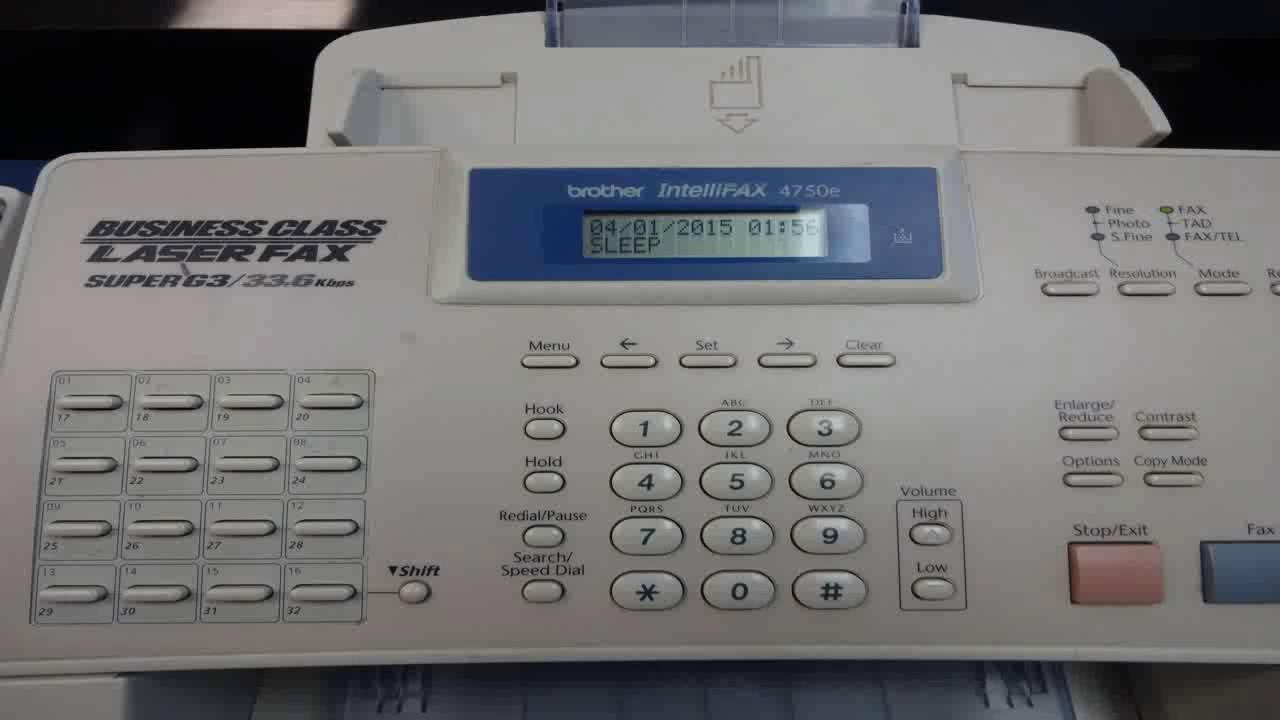 brother intellifax 4750e owners manual