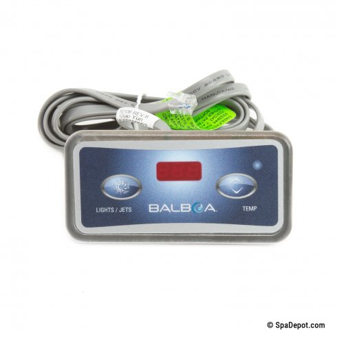 balboa 2 button topside control manual