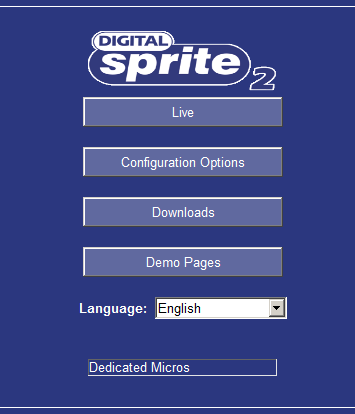 digital sprite 2 user manual