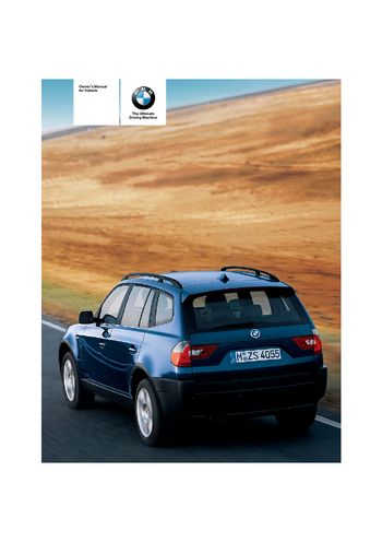 2014 bmw x3 owners manual pdf