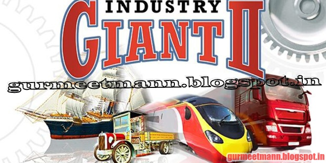 industry giant 2 game manual
