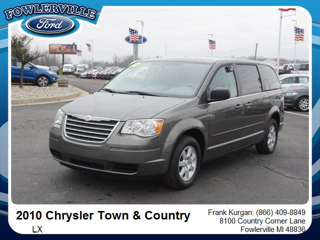 owners manual chrysler town and country 2010