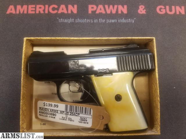 raven arms mp 25 owners manual